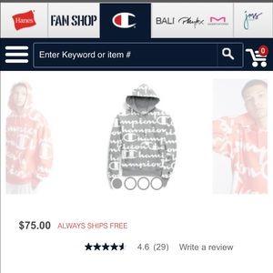 Champion hoodie. Size XL